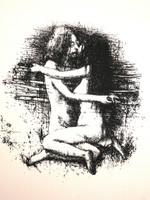 Bejarano (Agustin Bejarano) #3989. Untitled,2001. Screenprint edition 41/60.  23 x 19 inches.