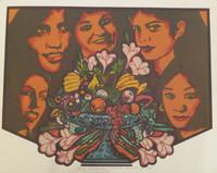 "Raúl Martínez #5488. ""Naturaleza Muerta,""1978. Serigraph print. 14 x 18 inches"