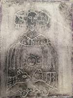 "Mederox (José Mederos Sigler) #751. Untitled, 1993. Mixed media on paper. 14"" x 11."""