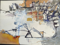 Julio Mendoza #6155. Untitled, 2001. Watercolor on paper. 10 x 14 inches