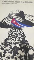 """Frémez (José Gómez Fresquet)   Consejo Nacional de Cultura de Cuba.  """"XV aniversario del triunfo de la revolucion,"""" N.D. Offset"""