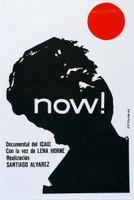 "Rostgaard (Alfrédo Gonzalez Rostgaard) (ICAIC) ""NOW,"" 1965. Silkscreen. 30 x 20 Inches."