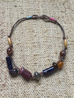 Osvaldo Castilla #417J. Mixed Bead Necklace