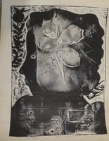 Nelson Dominguez #6354 (SL). Untitled, 1976. Serigraph print. 25 x 19 inches.
