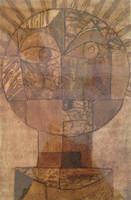 "Sandra Dooley #8070. ""El sol de Klee,"" 2014. Collagraph print edition 1/7. 14 x 19.5 inches.   SOLD!"