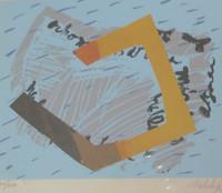 Nelida Lopez #335. Untitled, 1989. Serigraph print edition 34/250. 9.5 x 10.5 inches