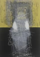 Martin Vázquez #347. Untitled, N.D. Serigraph print editon 38 of 40. 23 x 17.5 inches.
