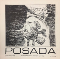 Posada (José Luis Posada): Prints and Drawings  April 7 - 29, 1978