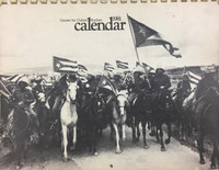1981 Center For Cuban Studies Calendar. SOLD OUT!