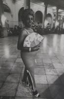 "Marucha (María Eugenia Haya) #337. NFS> ""Cecilia, a cafeteria worker,"" Havana 1981. 13 x 8.75 inches."