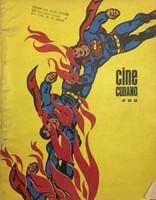 Reboiro (Antonio Fernández Reboiro) (Cover) Cine Cuban magazine 1983.
