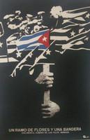 Azcuy (René Azcuy Cardenas) Un Ramo de Flores y una Bandera