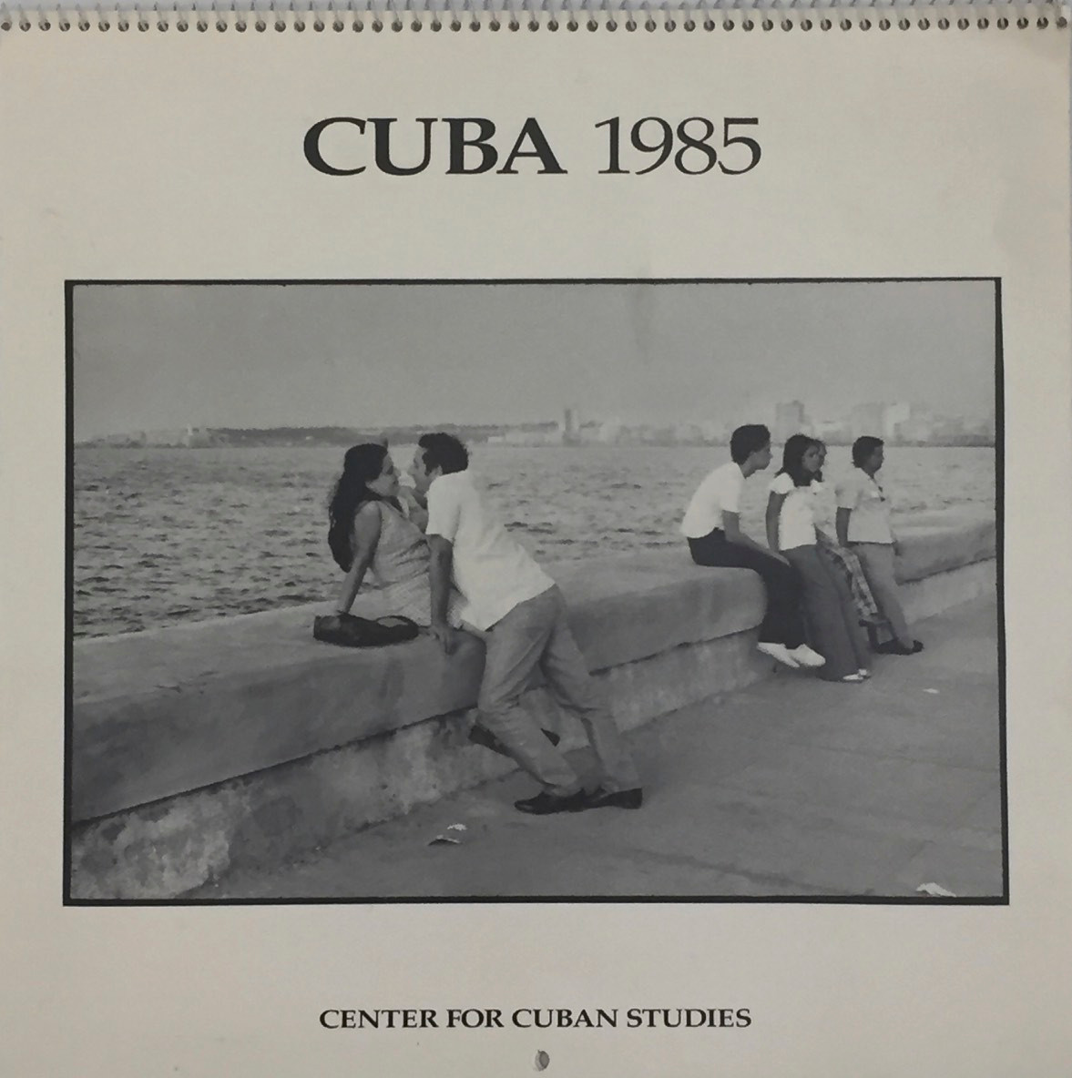 1985 Calendar.1985 Calendar Sold Out Center For Cuban Studies