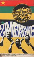 """74 OSPAAAL, """"Jornada de solidaridad con Zimbabwe (12 de Septiembre)."""" Offset. 21"""" x 13"""""""