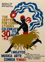 """82 Suitberto Goire, CCS 32nd Anniversary, 2004. Silkscreen. 27.5"""" x 19.5"""""""