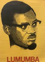 "83 OSPAAAL, ""Lumumba."" Offset. 28"" x 18.5"""