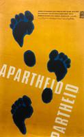 """84 OSPAAAL, """"Jornada de solidaridad con el pueblo de Africa del Sur."""" Offset. 21"""" x 13"""""""
