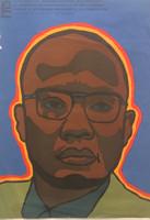 """86 OSPAAAL, """"20 de enero 1975: Segundo aniversario de su asesinato."""" (Amilcar Cabral) Offset. 27"""" x 19"""""""