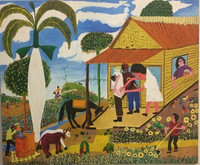 "005 Luis A. Villalón, Untitled, 2005. Oil on linen. 34.25""x 41.5"" #3910"