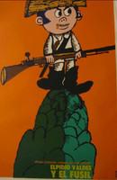 Bachs (Eduardo Munoz Bachs) Elpidio Valdes y el fusil, c