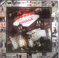 "Kadir (Kadir López Nieves) ""Welcome to Fabulous Havana #1."" 2015. Mixed media, 37"" square. SOLD!"