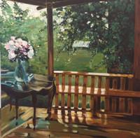 Daniel Solana #6211 (SL). Untitled, 2007. Oil on canvas, 39 x 39 Inches