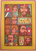 "Raúl Martínez, NFS>> ""Viva la revolucion"",1978.  Silkscreen, 23/35, 25 3/4"" x 18 3/4"""