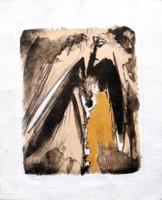 "Lescay (Alberto Lescay Merencio) #6255. ""Vuelo Lam,"" N.D. Lithograph print. 13.75 x 11.25 inches."