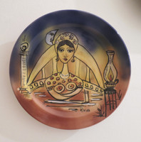 Rivas #6534 Untitled, N.D. Ceramic plate from Cienfuegos, Cuba. 10 inches diameter.    $85