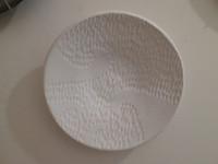Alejandro Lopez Bastida #6536 Untitled, N.D. Ceramic plate from Trinidad de Cuba.  9 inches diameter.    $125