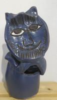 Fuster (José Rodríguez Fuster) #6515 (SL)  Untitled, N.D. Ceramic sculpture. 12 x 5.5 inches.