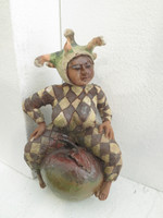 Martha Jimenez #5494  Untitled, ND. Clay sculpture from Camaguey, Cuba. 7 x 4 X 3 inches. SOLD!
