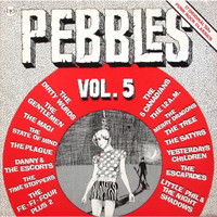 PEBBLES - Vol 05 (RARE 60s GARAGE PSYCH) Comp LP