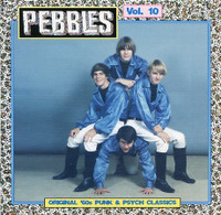 PEBBLES - Vol 10 ORIGINAL 60s PUNK & PSYCH CLASSICS- Comp CD
