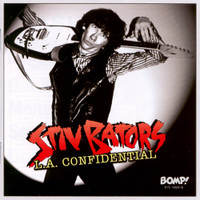 BATORS, STIV - L.A. Confidential- with 24 page booklet, liners & rare photos. (DEAD BOYS powerpop garage)  CD