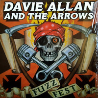 ALLAN  DAVIE  AND THE ARROWS - Fuzzfest (the king of garage surf rock  !)CD