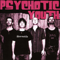 PSYCHOTIC YOUTH -Stereoids  (intense Swedish punk/powerpop, Ramones meet Cheap Trick!) CD