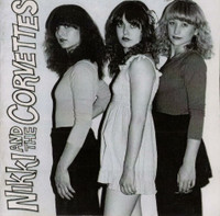 NIKKI AND THE CORVETTES -ST (80s Garage pop goddesses, with Peter James from the Romantics on guitar!) CD