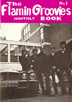 FLAMIN GROOVIES - Monthly book #1 - Books & Mags