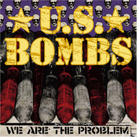 U.S. BOMBS - We Are The Problem (OC street punk) PURPLE VINYL 45 RPM
