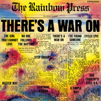 RAINBOW PRESS -There's a War On  SALE! (68 psych insert with liners)LP