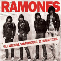 RAMONES -OLD WALDORF,SAN FRANCISCO,JAN '78  w liners!  CD