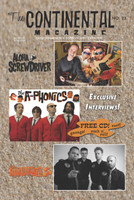 CONTINENTAL MAGAZINE  - #23 - ALOHA SCREWDRIVERS / A-PHONICS COVER + CD-  BOOKS & MAGS