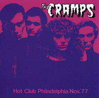 CRAMPS, THE  -Hot Club 1977 Philadelphia -  LP