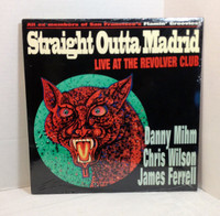 "STRAIGHT OUTTA MADRID (Flamin Groovies) Live at the Revolver CLub 1995 10""  LP"