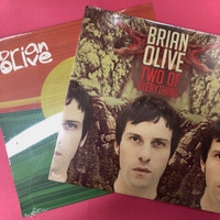 OLIVE, BRIAN - BOTH LPS! ( Blend of soulful R&B with raunchy garage & psych) Prod by Dan of the Black Keys-  LP