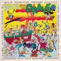 BACK FROM THE GRAVE - Vol 5 - GATEFOLD - OVERSTOCK SAALE! 16 Crazed Bone Crunchin' Mid-60s Garage Punkers! - COMP LP