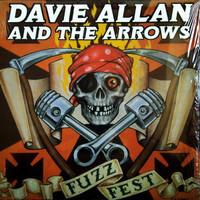 ALLAN  DAVIE  AND THE ARROWS - Fuzzfest -LAST COPIES!   LP