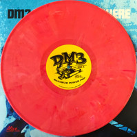 DM3 -West of Anywhere -  RASPBERRY  PINK  SWIRL VINYL  ltd ed of 150 -Amazing NERVES/SHOES/ROMANTICS style powerpop! LP
