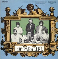 49TH PARALLEL- ST (rare 60's  Canadian psych)  ltd ed  color insert with band history and photos -  LP